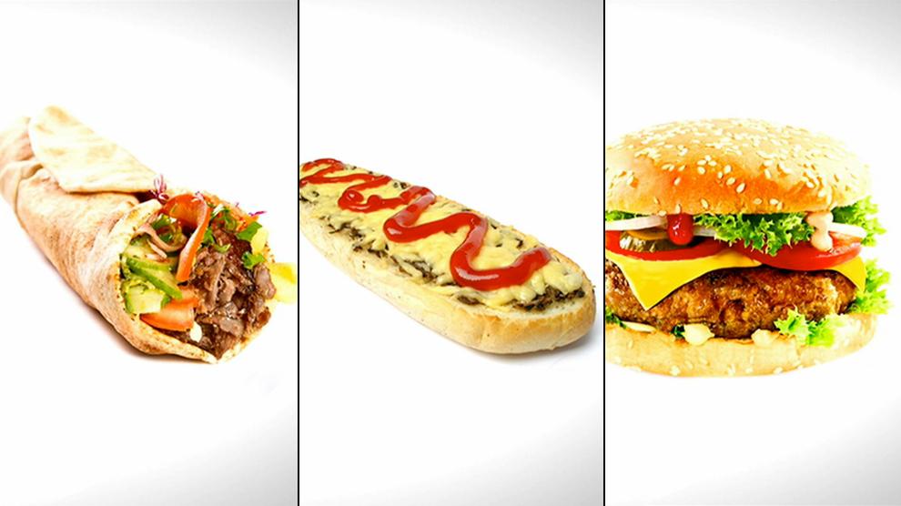 Hamburger, zapiekanka, kebab. Ile to ma kalorii?